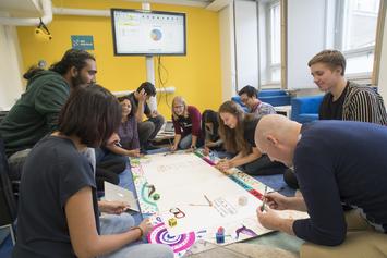 Cozy collaborative space
