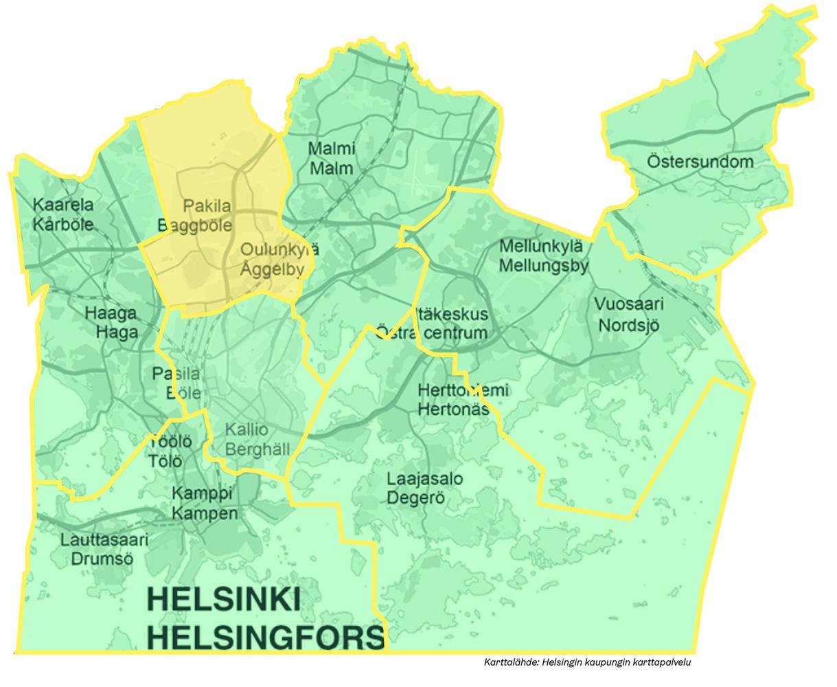 Pohjoinen Helsinki Omastadi