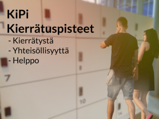 KiPi recycling points for Helsinki