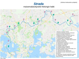 Strada – a scenic route through Helsinki