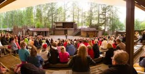 Summer theatre site for Vuosaari