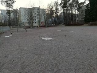Strömsin puiston nykyinen liikuntapaikka