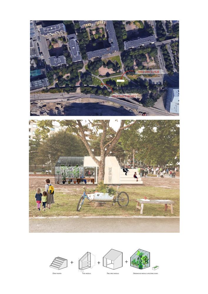 Vapaa tila Sähköttäjänpuistoon