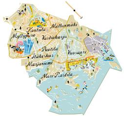 Karttakuva Itäinen