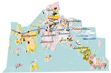 Karttakuva Eteläinen