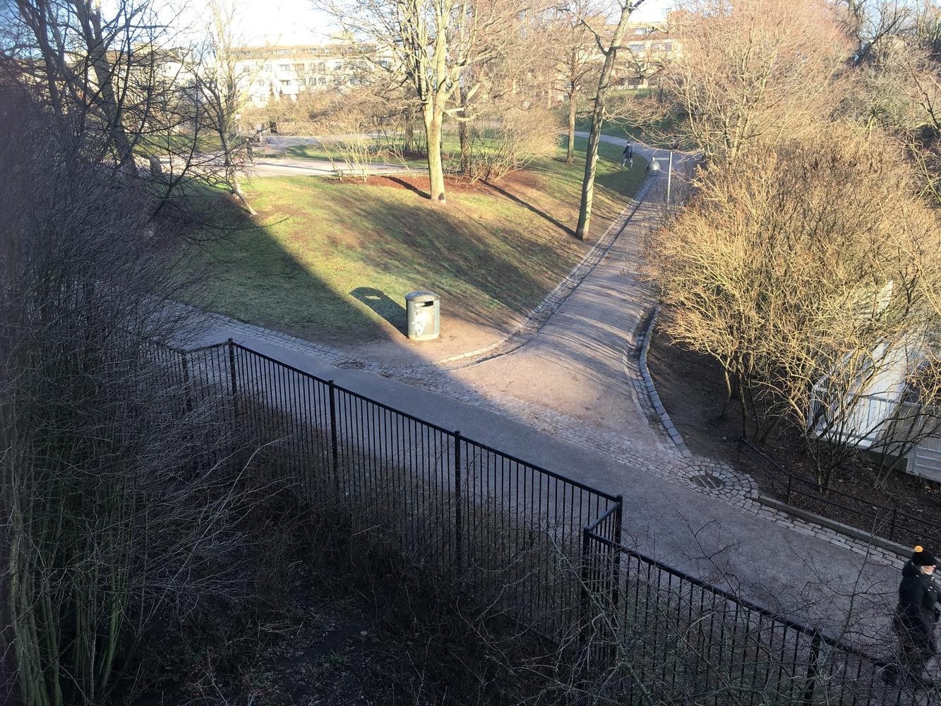 Patsas puistoon