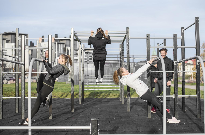 Suomen Street Workout yhdistyksen liikuntapaikkaehdotus