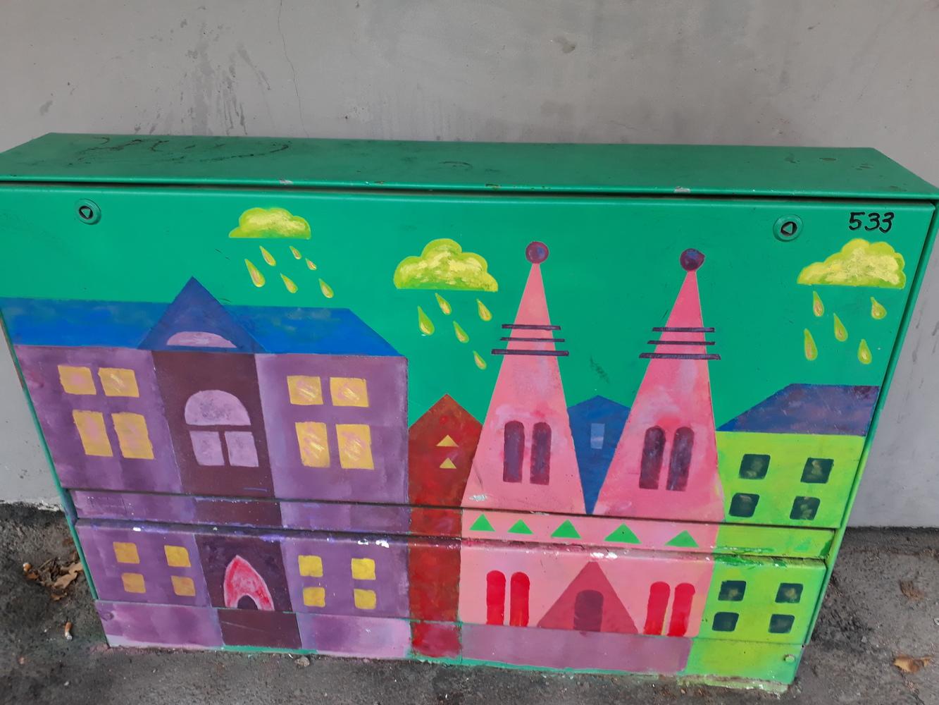 Street Art-kartta kantakaupungin sähkökaappitaiteesta