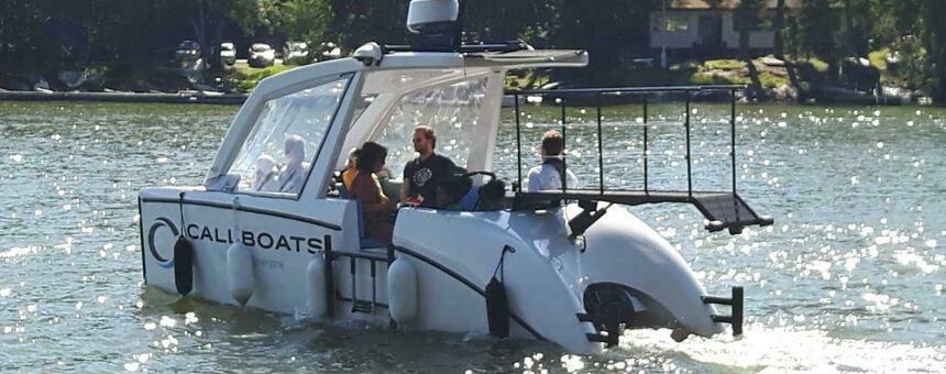 Saaret saavutettaviksi kutsuvenepalvelun avulla