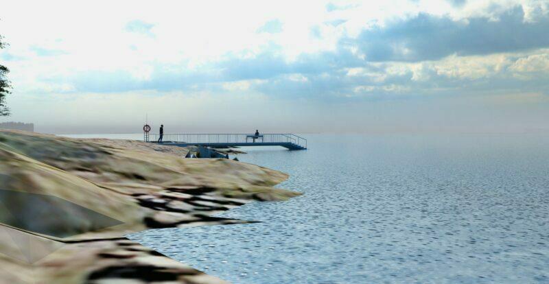 Uimalaituri Arabianrantaan