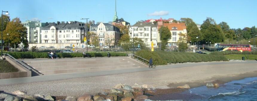 Eiranrannasta monikäyttöinen, viihtyisä ja toimiva uimaranta ympäri vuoden