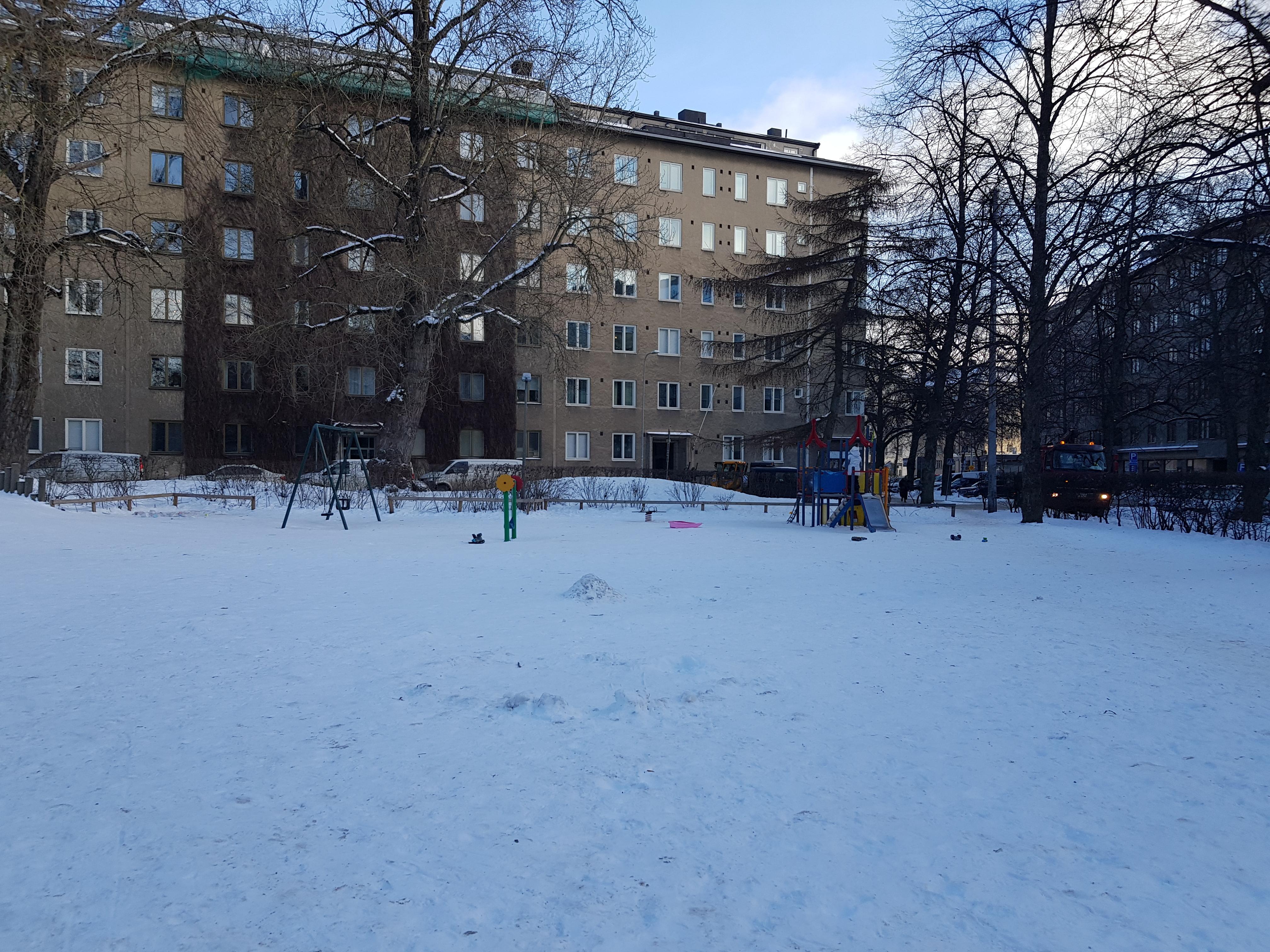 Linnankosken puiston (AXAn puisto) kunnostaminen