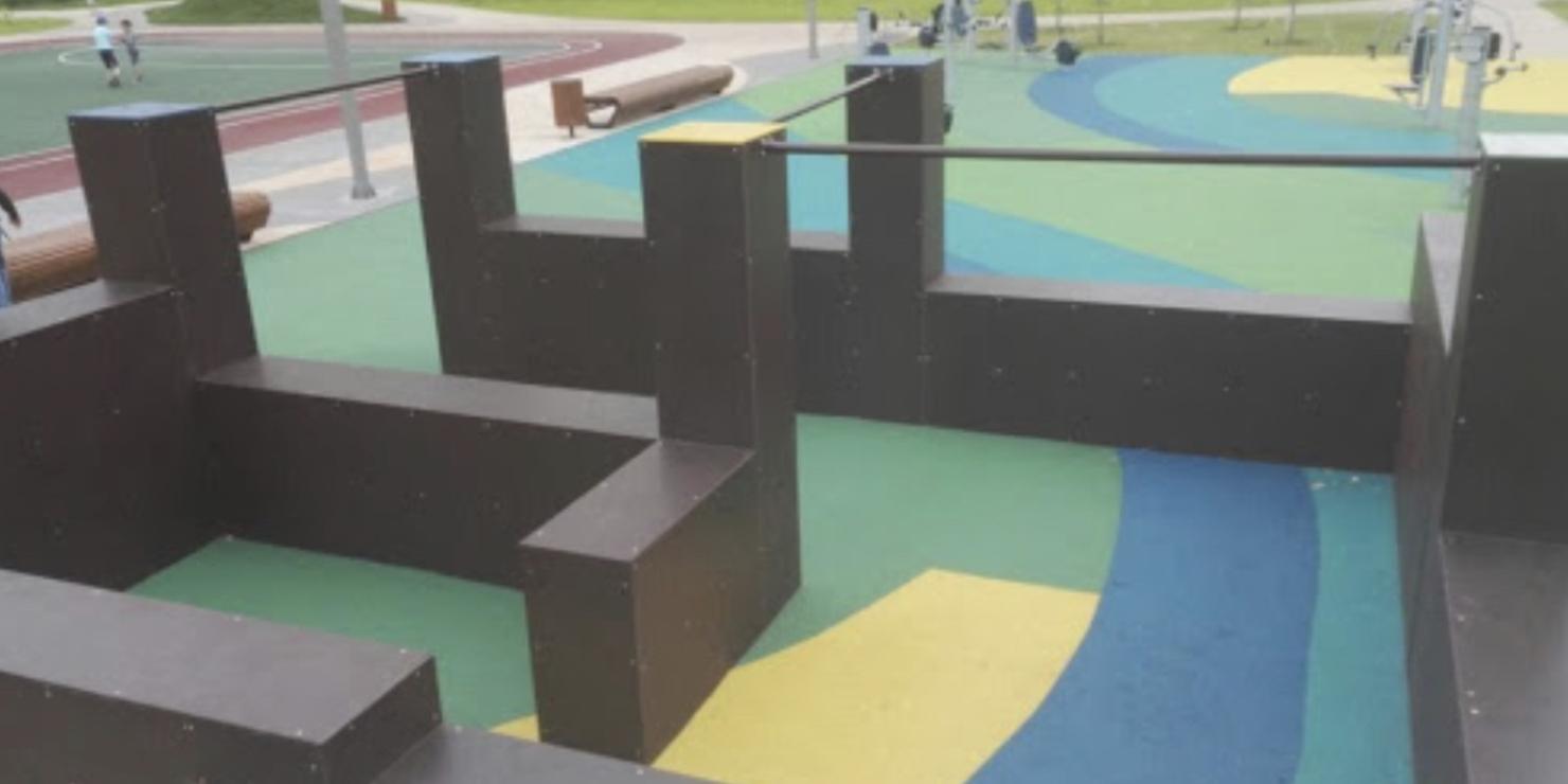 Parkkour puisto