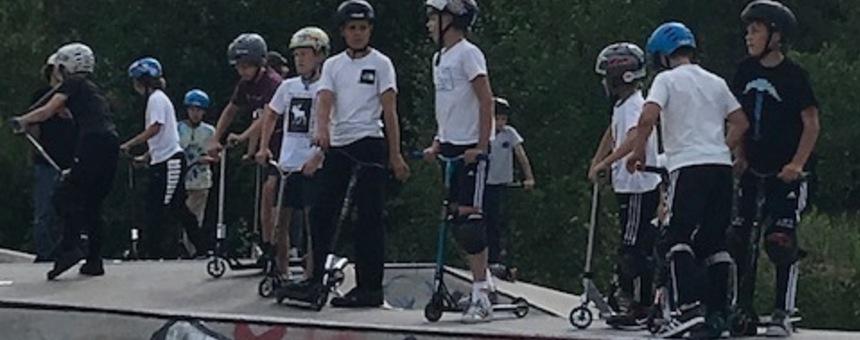 Skuutti/skeitti/BMXparkki Pohjois-Helsinkiin