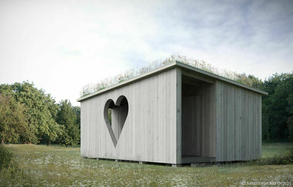 More public toilets in Helsinki: dry toilets Helsinki-huussi (WC)