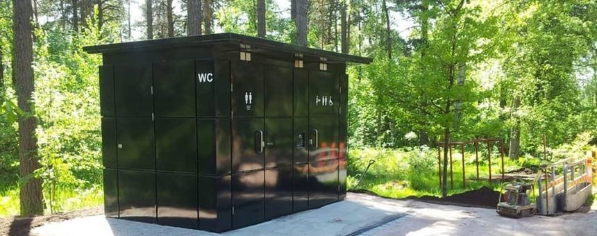 Yleisö-wc Ryssänkärkeen, Lauttasaareen
