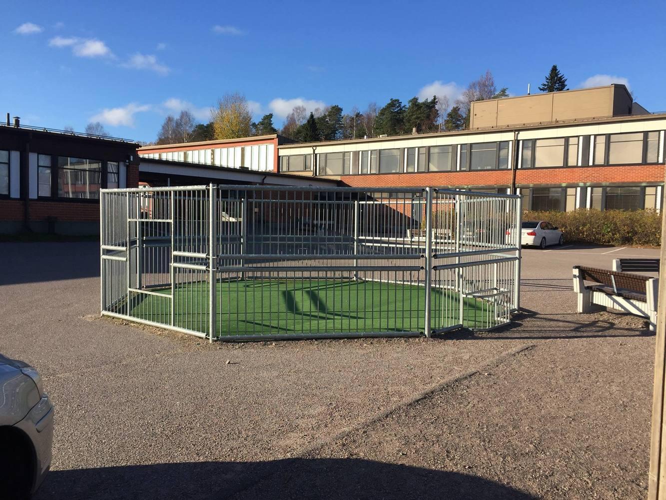 Eteläisen Helsingin koulupihat liikunnallisesti kuntoon