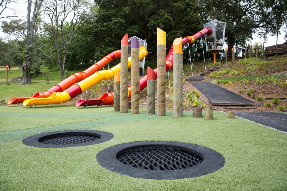 Lasten leikkipaikka liikuntaa varten