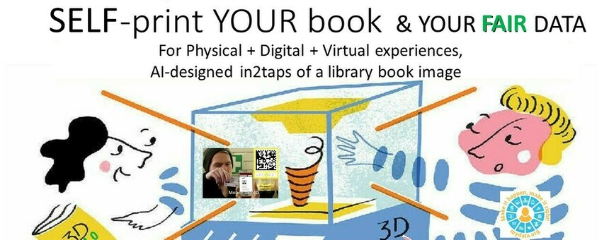 MyData IndiviDUALbooks: library books made Accessible & Available, home-delivered in2taps of book cover at a library web page. Touch&stream YOUR book!