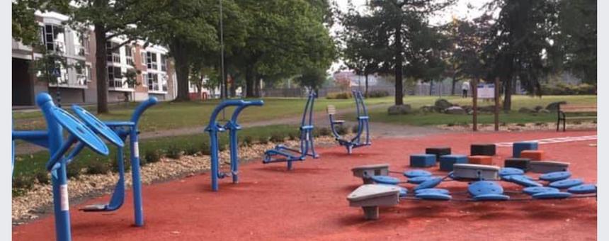 Liikuntapuisto senioreille ja kaikenikäisille