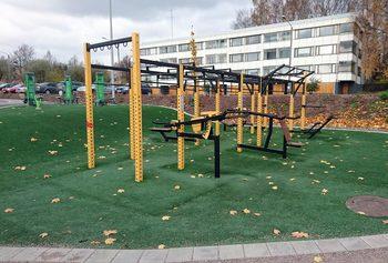 Liikuntapuisto Helsingissä
