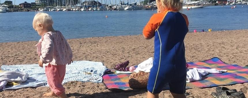 Uunisaaren kävelyreitti esteettömäksi ja uintimahdollisuudet paremmaksi -Kansikuva-
