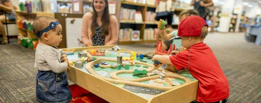 Separate Sections for Children in Helsinki Libraries
