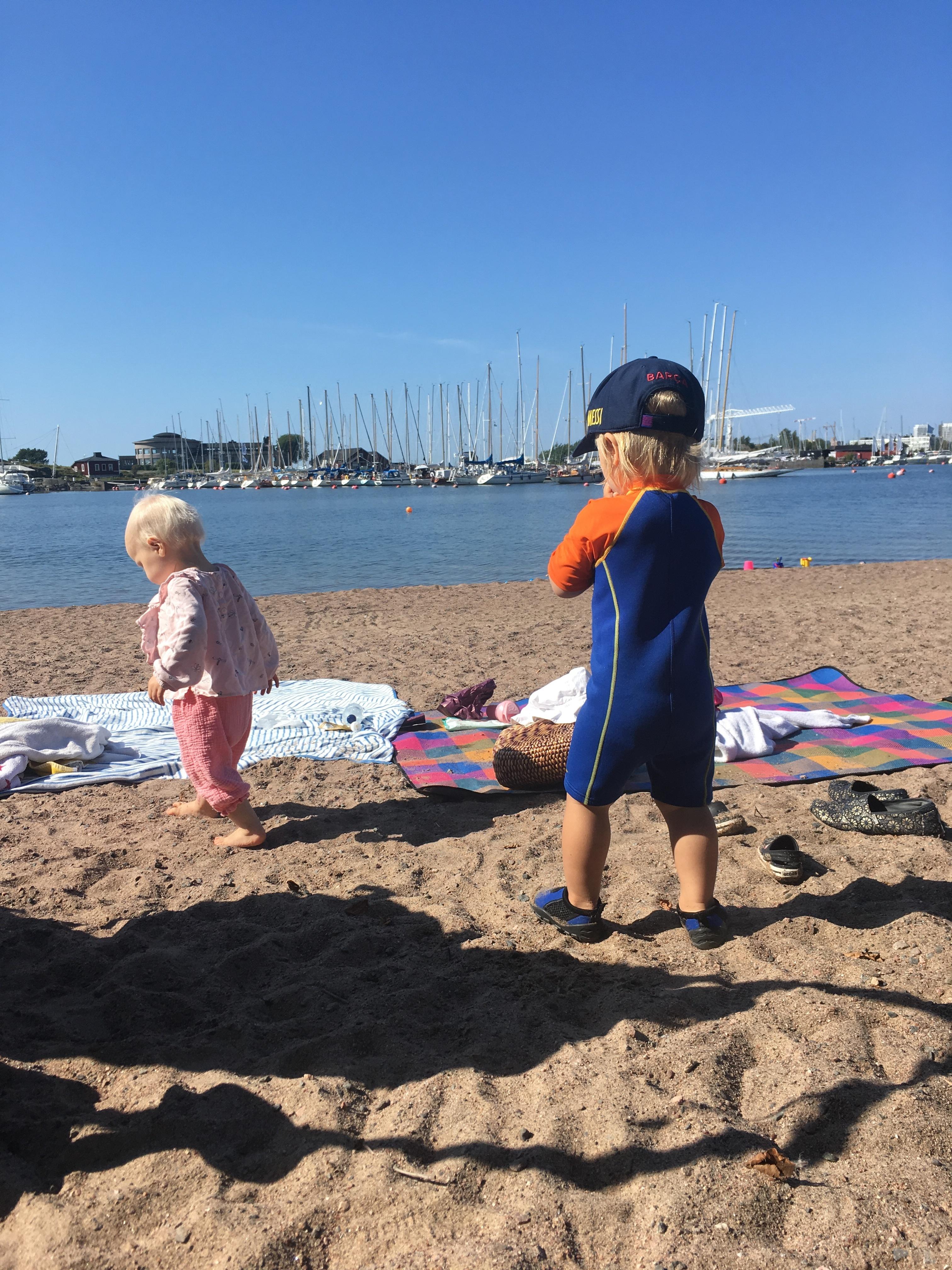 Uunisaaren kävelyreitti esteettömäksi ja uintimahdollisuus paremmaksi