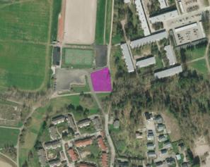 Ulkokuntosalin sijainti urheilupuistossa (karttakuva)