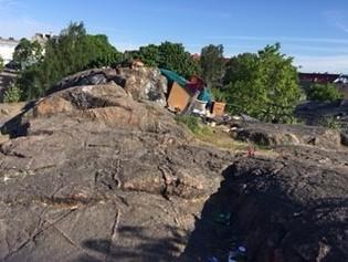 Kalliot Vallilantiellä