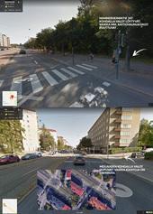 Meilahdesta puuttuvat pyöräilijöiden liikennevalot