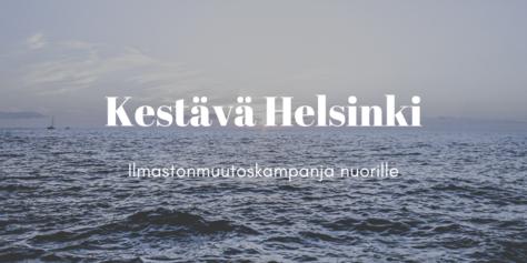 Kestävä Helsinki.