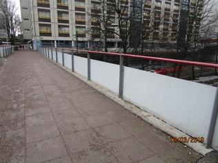 Topparikujan toinen silta itään