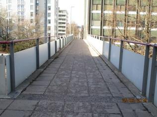 Kirjurinkadun silta itä-länsi