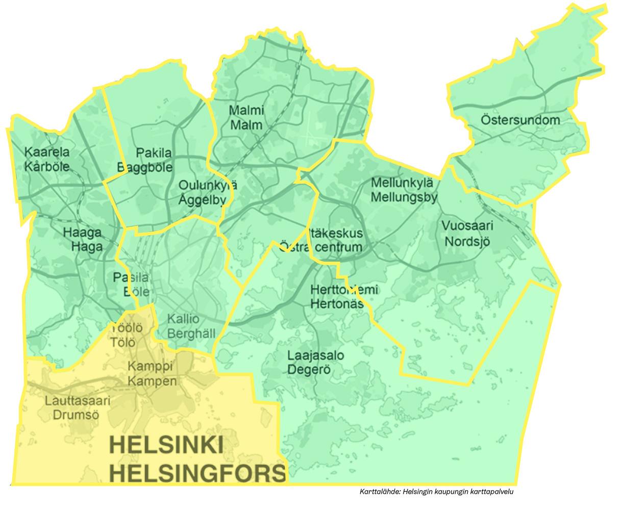 Southern Helsinki Omastadi