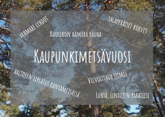 Helsingin monet metsät