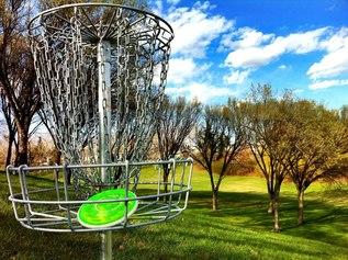 Frisbeegolf!