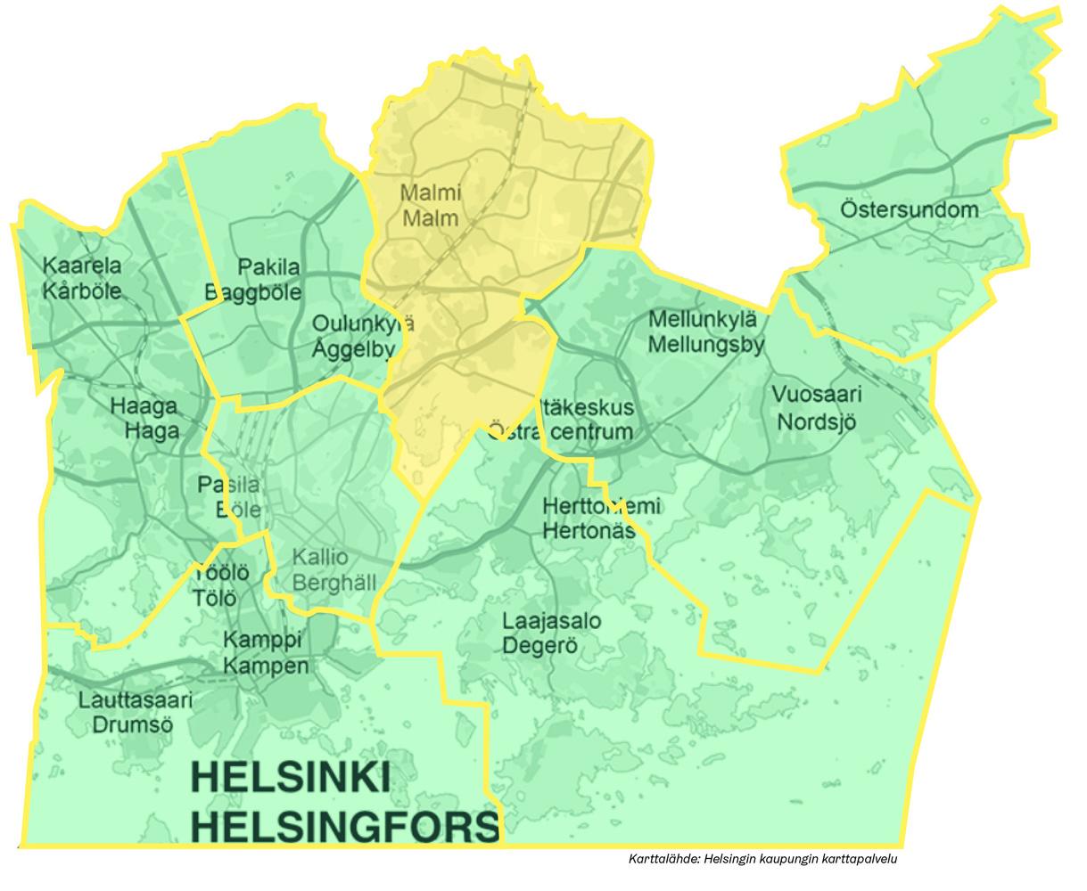 Koillinen Helsinki Omastadi
