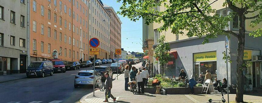 More greenery for the areas of Kallio, Harju, Sörnäinen and Vallila!