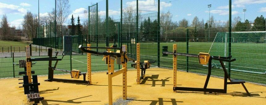 Outdoor gym for the Vallila-Hermanni area