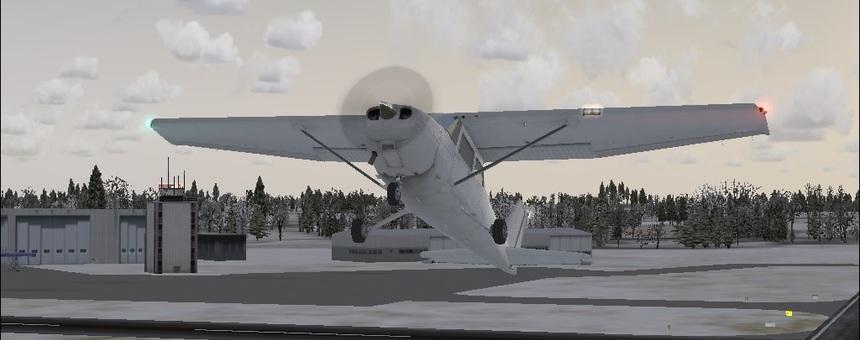 Aikatauluttomien lentoliikenneyhteyksien ja lentokoulutuksen turvaaminen