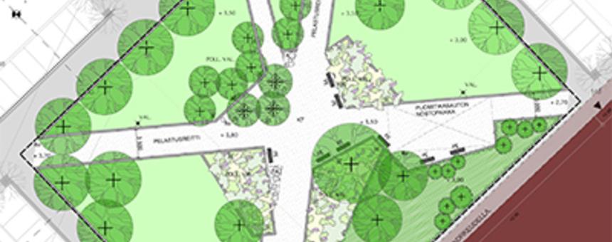 Taideteokset Toukopuistoon - Konstverk till Majparken