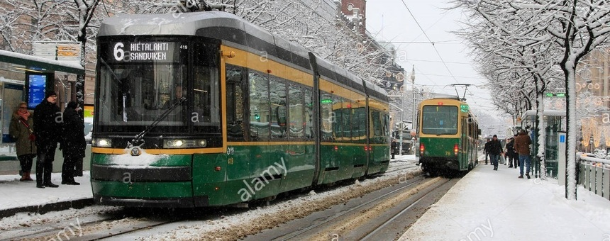 More comfort in bus and tram stops during winter