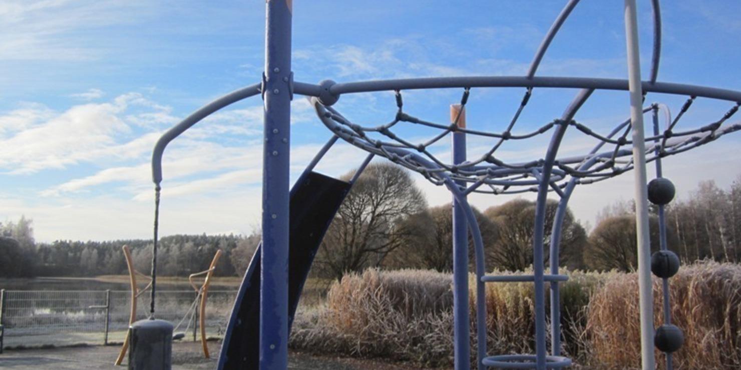 Mikkelinpuiston teline