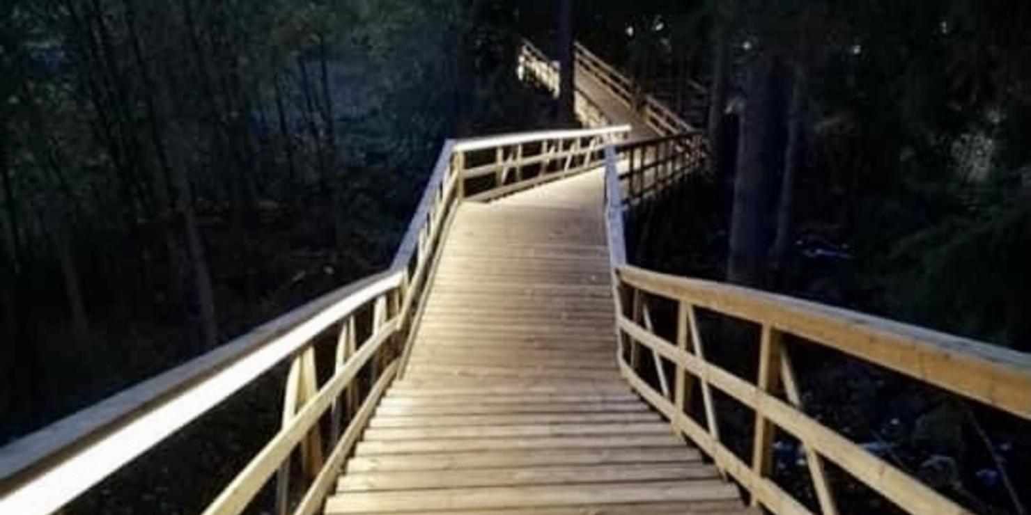Valaistut portaat