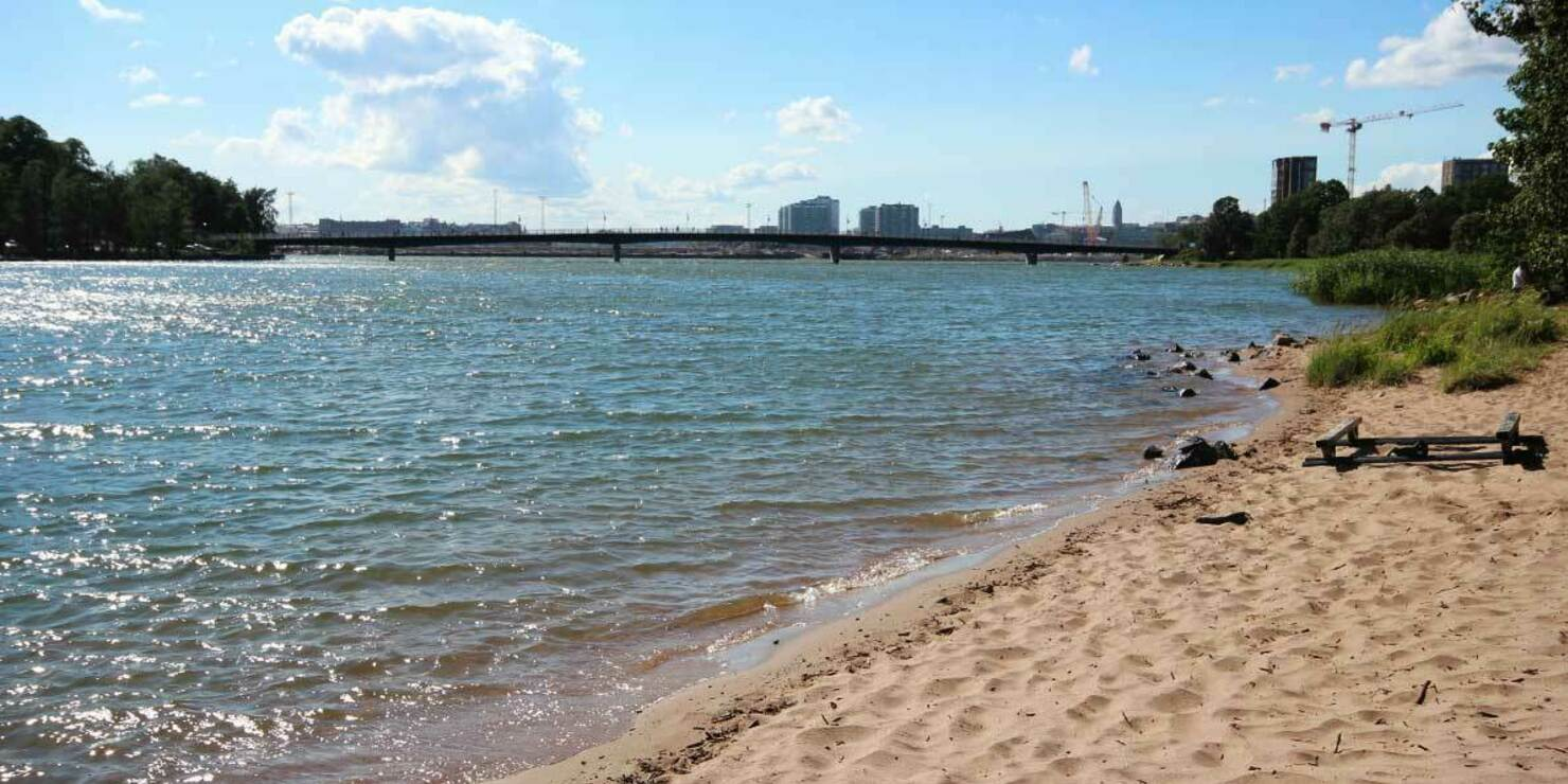 Mustikkamaan uimaranta