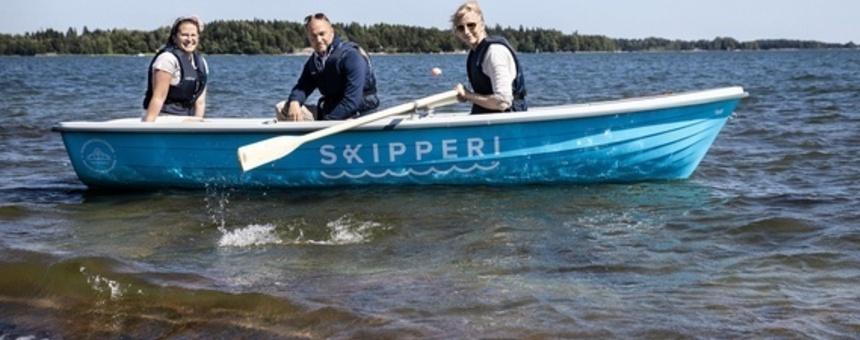 Rantautumis- ja laituripaikkoja kaupunkiveneille ja pienveneille sekä kanoottilaitureita lähisaariin ja Helsingin rannoille